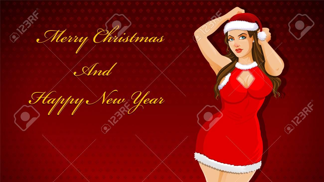 Weihnachtswünsche Und Grüße.Stock Photo