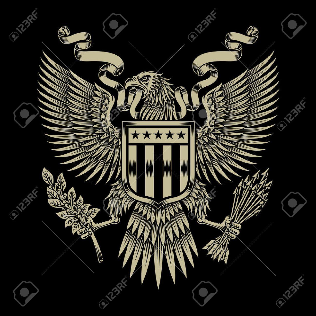 American Eagle Emblem - 42436427
