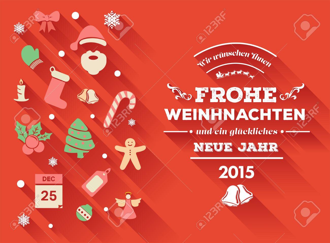 Frohe weihnachten message