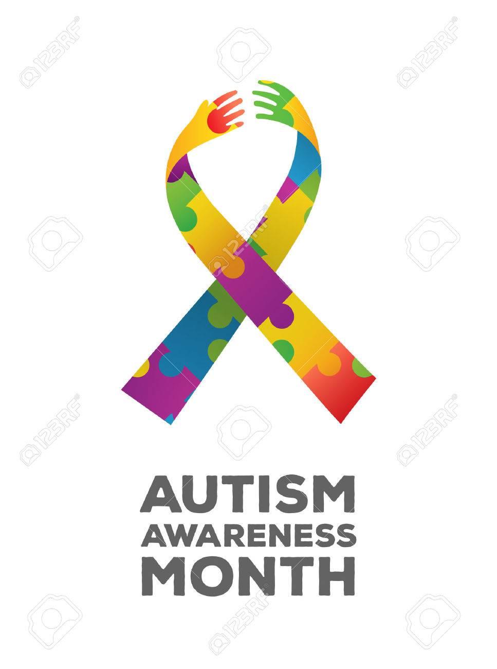 Digitally generated Autism awareness design vector Stock Vector - 38096420