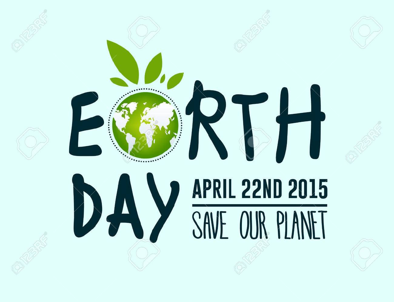 Digitally generated Earth day vector Stock Vector - 38673127