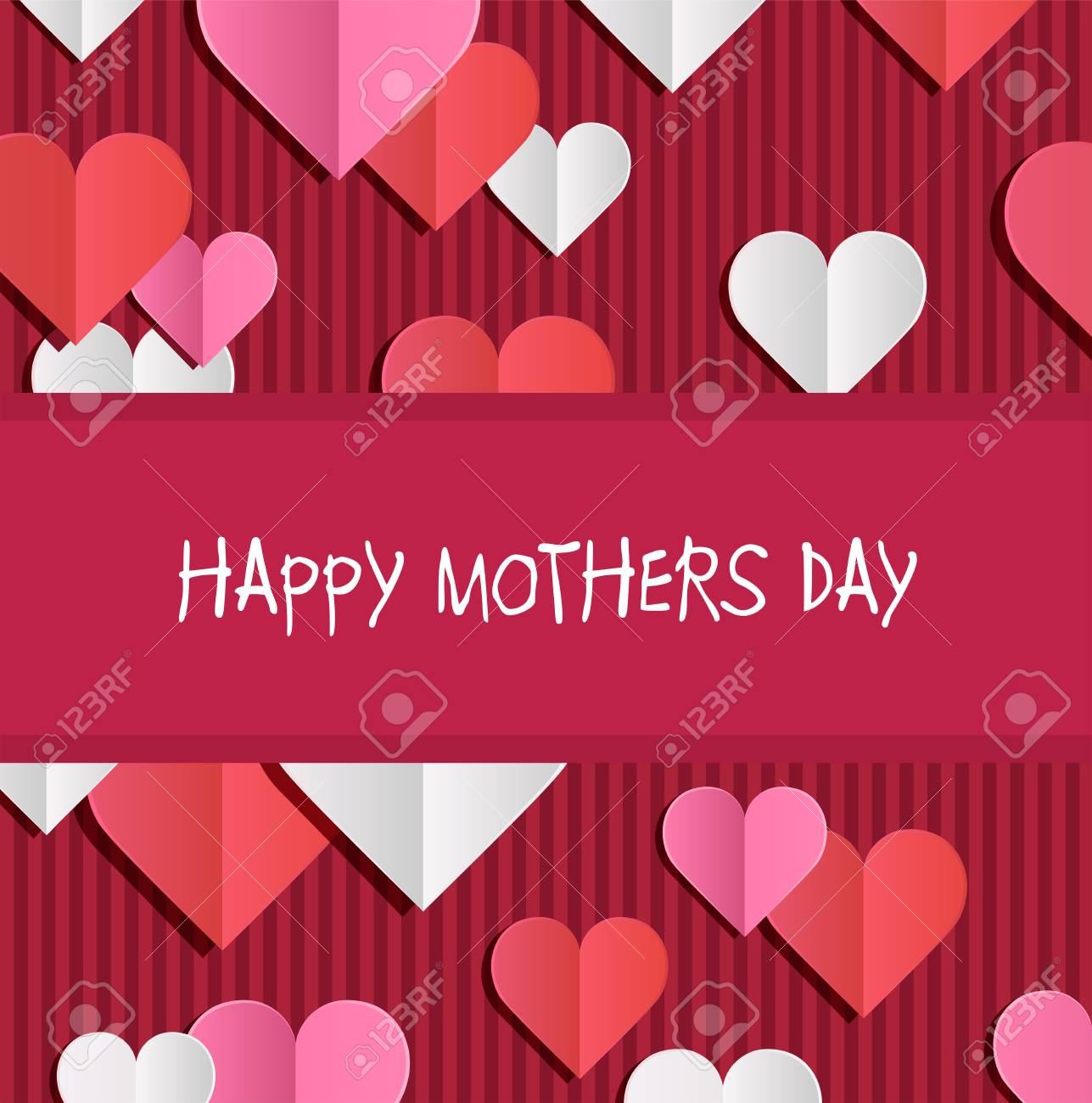 Digitally generated Happy mothers day vector Stock Vector - 38675137