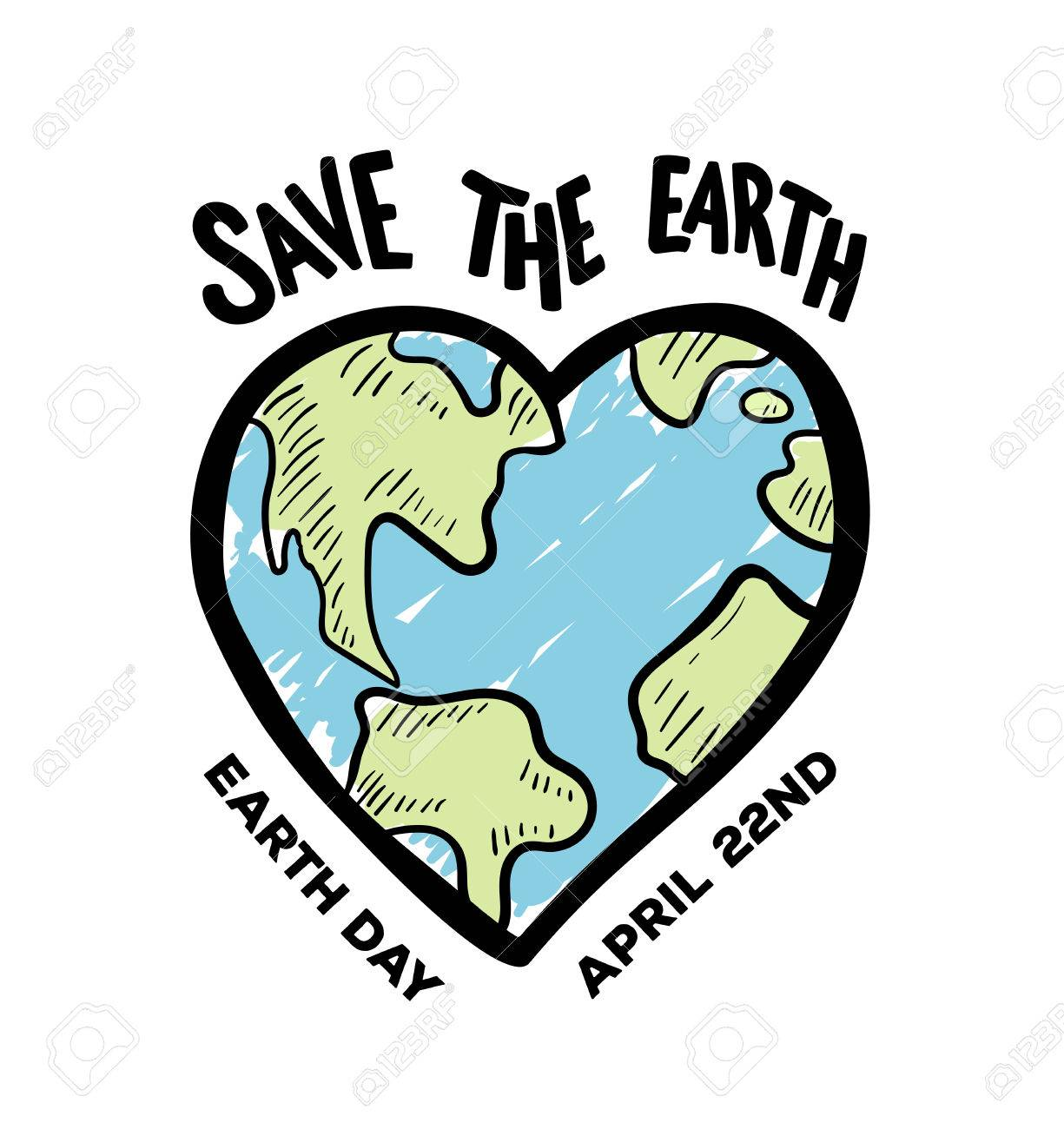Digitally generated Earth day vector Stock Vector - 38677086