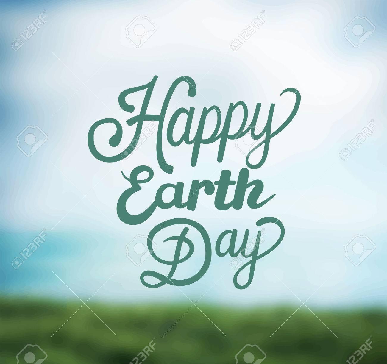 Digitally generated Earth day vector Stock Vector - 38677088