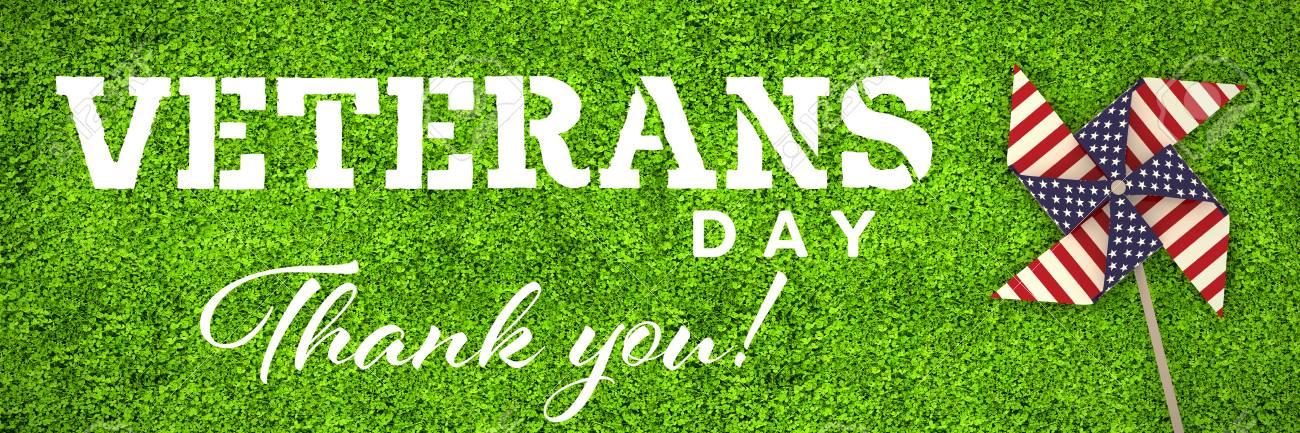 Día De Veteranos En América Contra Fotograma Completo De Campo De ...