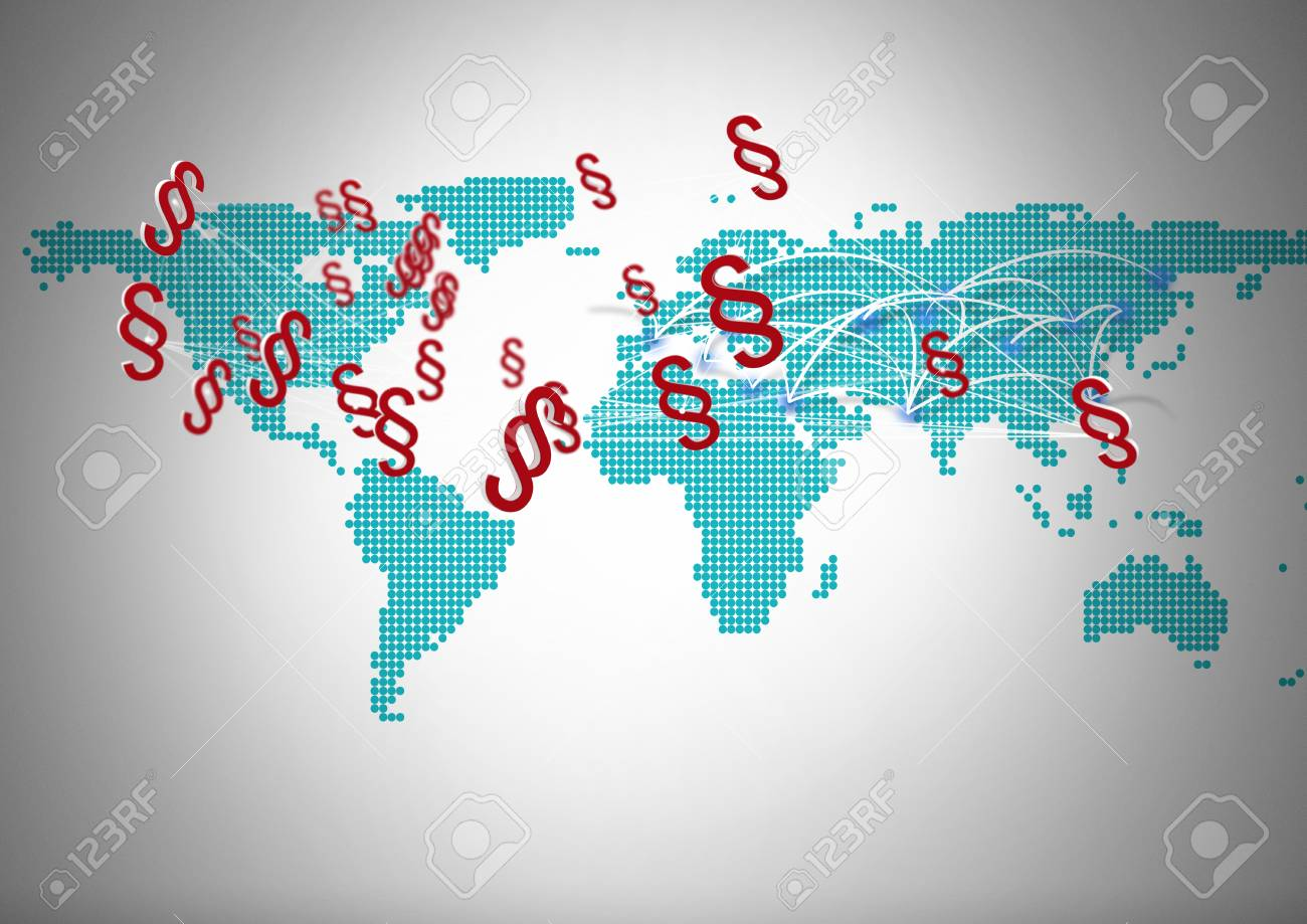 Digital composite of 3d section symbol icons with world map stock digital composite of 3d section symbol icons with world map stock photo 93200766 gumiabroncs Choice Image