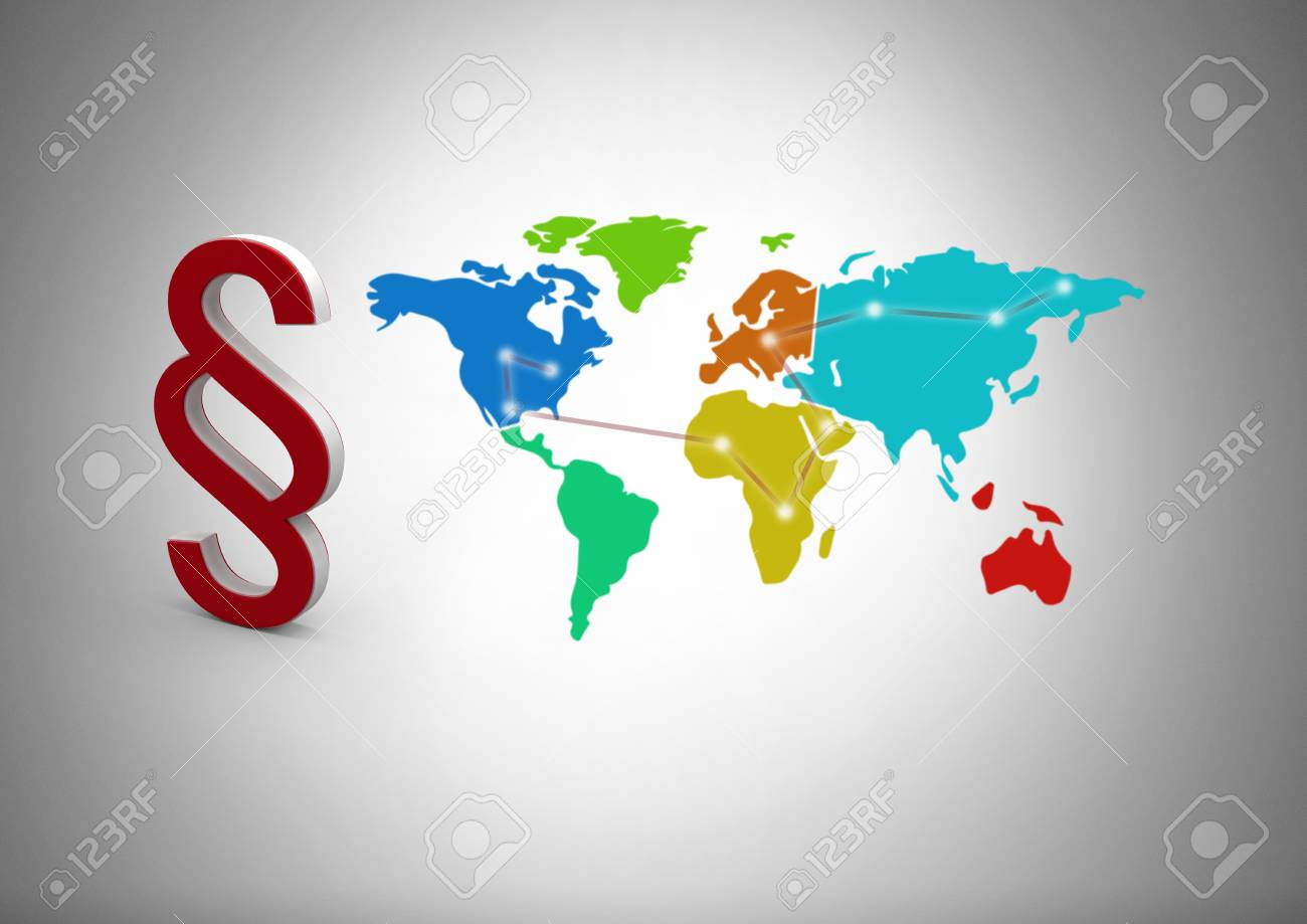 Digital composite of 3d section symbol icon with world map stock digital composite of 3d section symbol icon with world map stock photo 93201424 gumiabroncs Choice Image