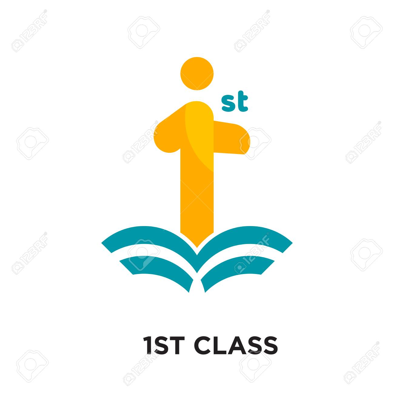 First Class Logo Isolated On White Background For Your Web And Royalty Free Cliparts Vectors And Stock Illustration Image 101120316