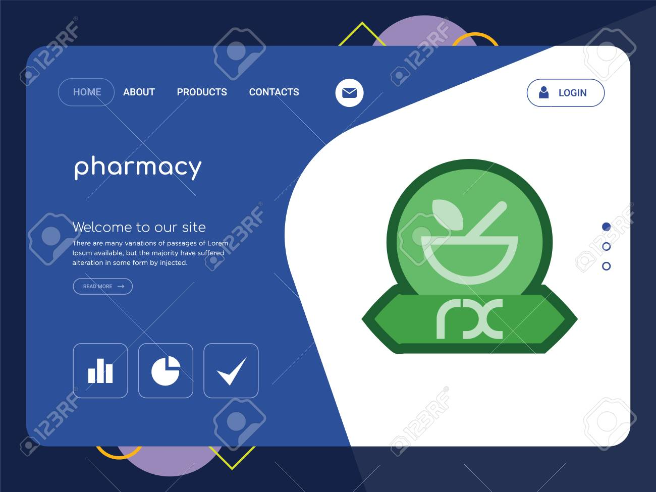 Compounding pharmacy website templates medical website templates.