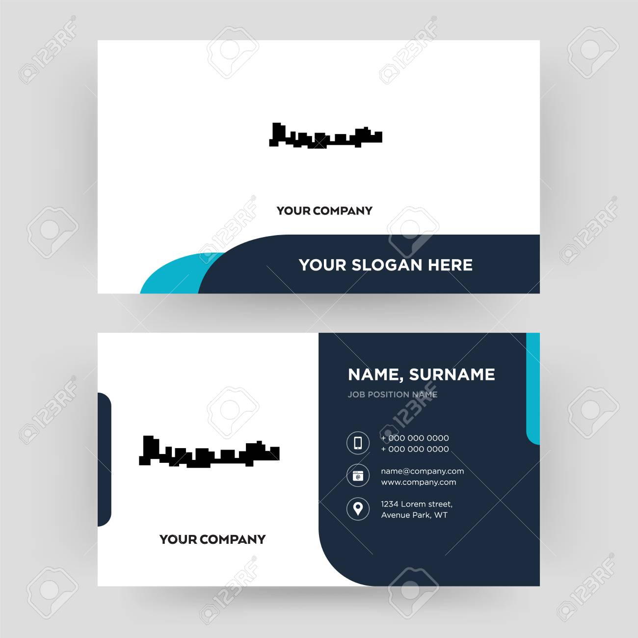 Jamaica Business Card Design Template Visiting For Your Company
