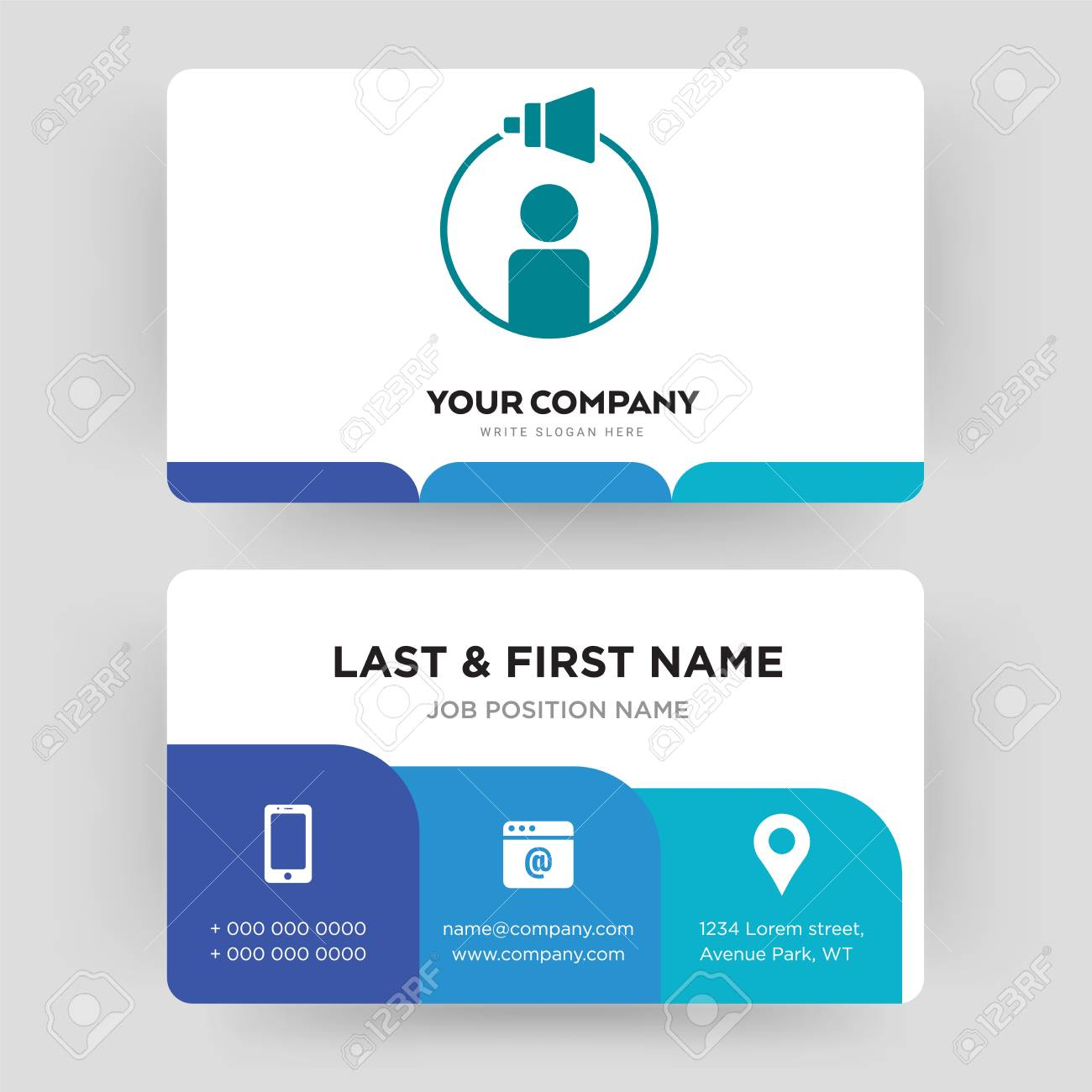 Campaign Management Business Card Design Template Visiting