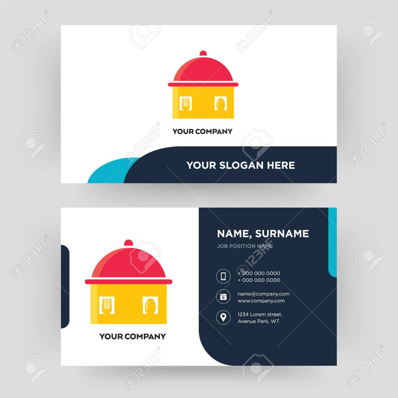 Homemade food business card design template visiting for your homemade food business card design template visiting for your company modern creative and colourmoves
