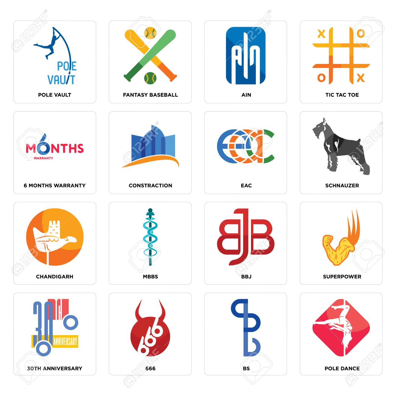 Set Of 16 simple editable icons such as pole dance, bs, 666,