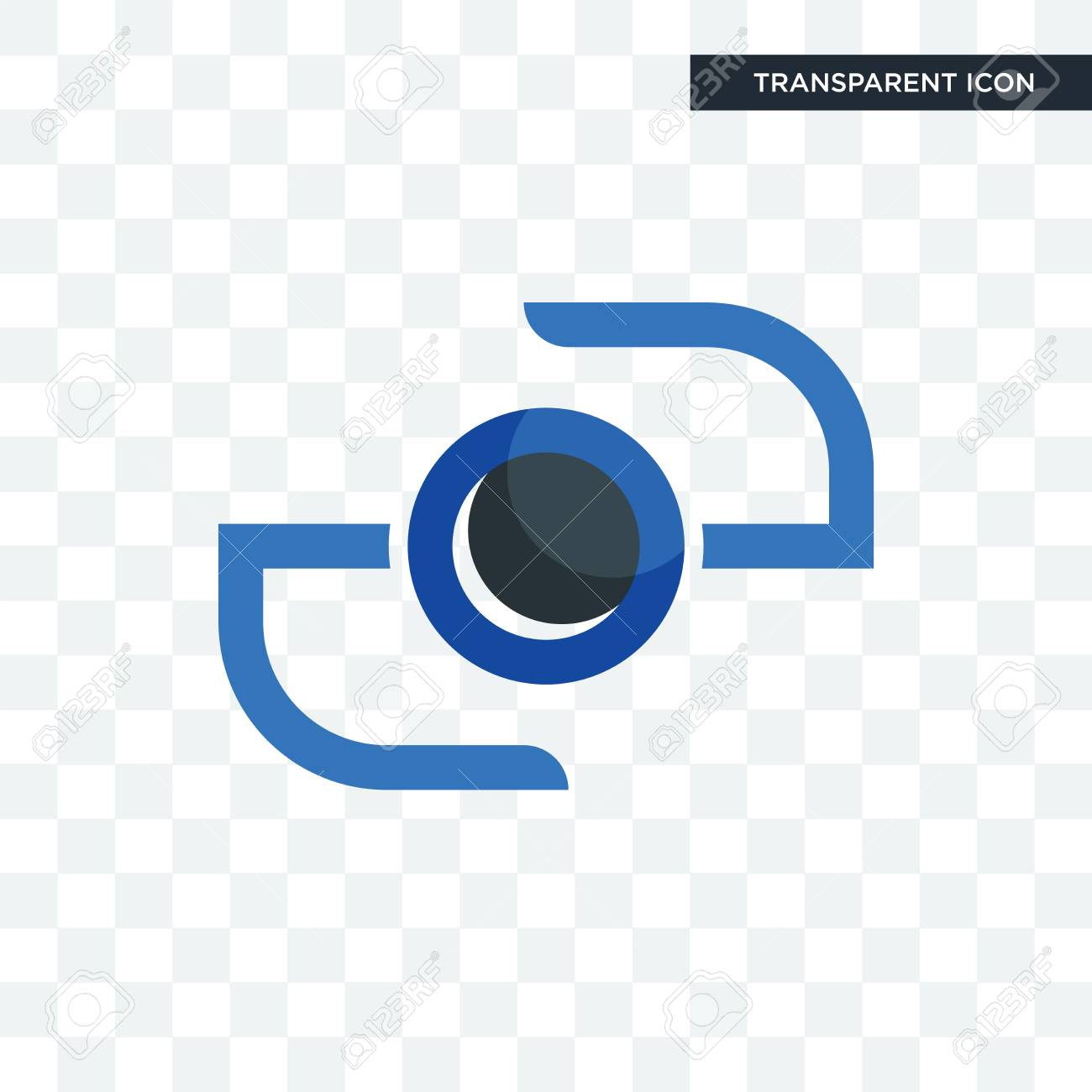 Camera Vector Icon Isolated On Transparent Background Camera Royalty Free Cliparts Vectors And Stock Illustration Image 103526421