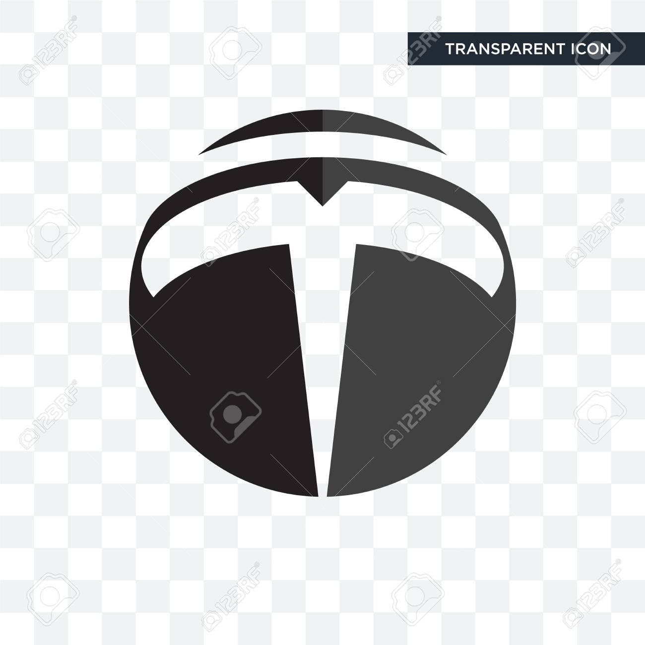 tesla vector icon isolated on transparent background, tesla logo