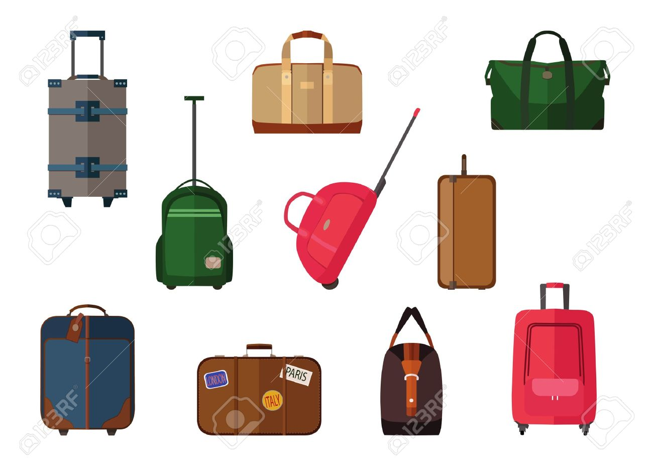 Different Types Of Baggage Carry-on Luggage 7cccdf1729b1