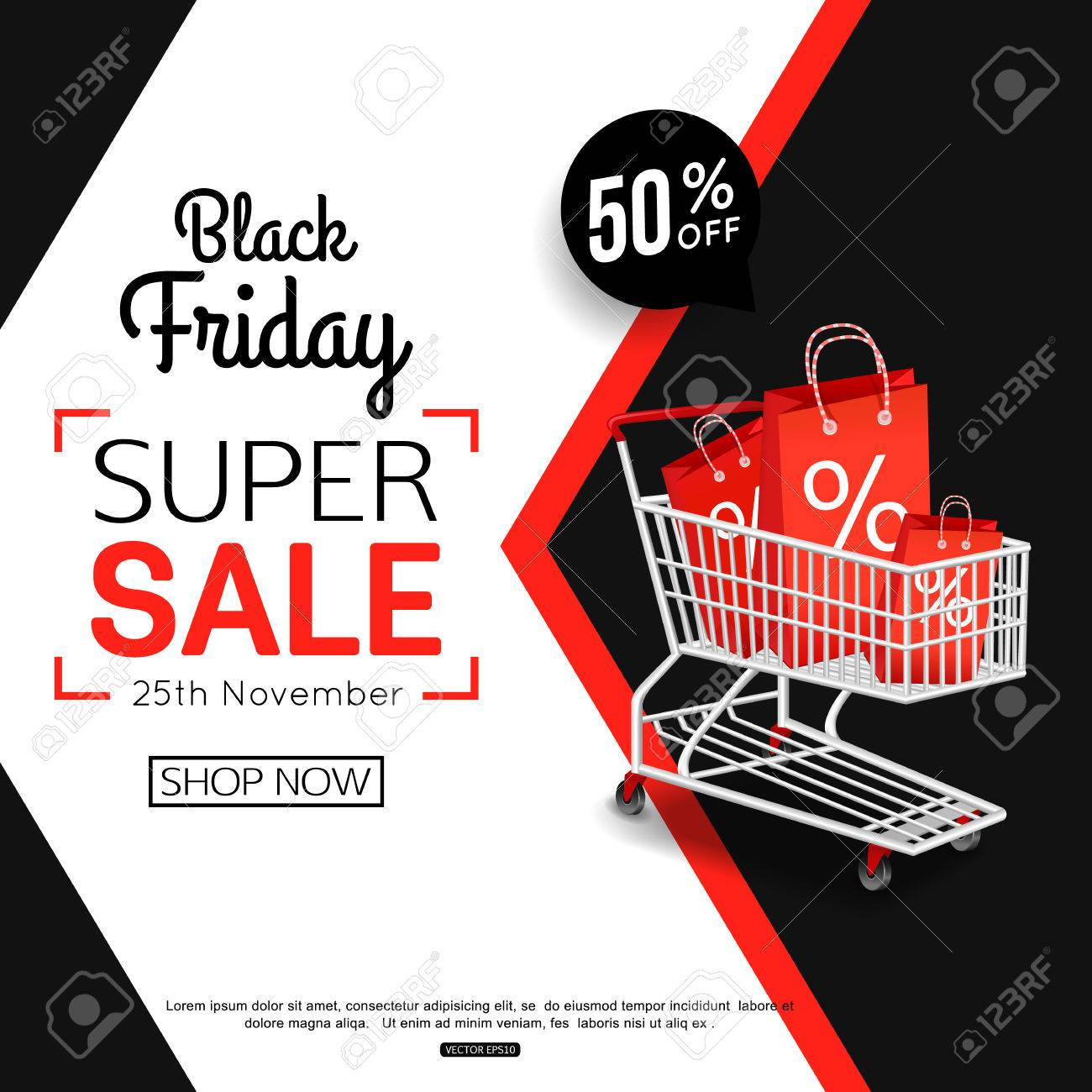 f90083e21e Black Friday Sale Banner For Online Shop