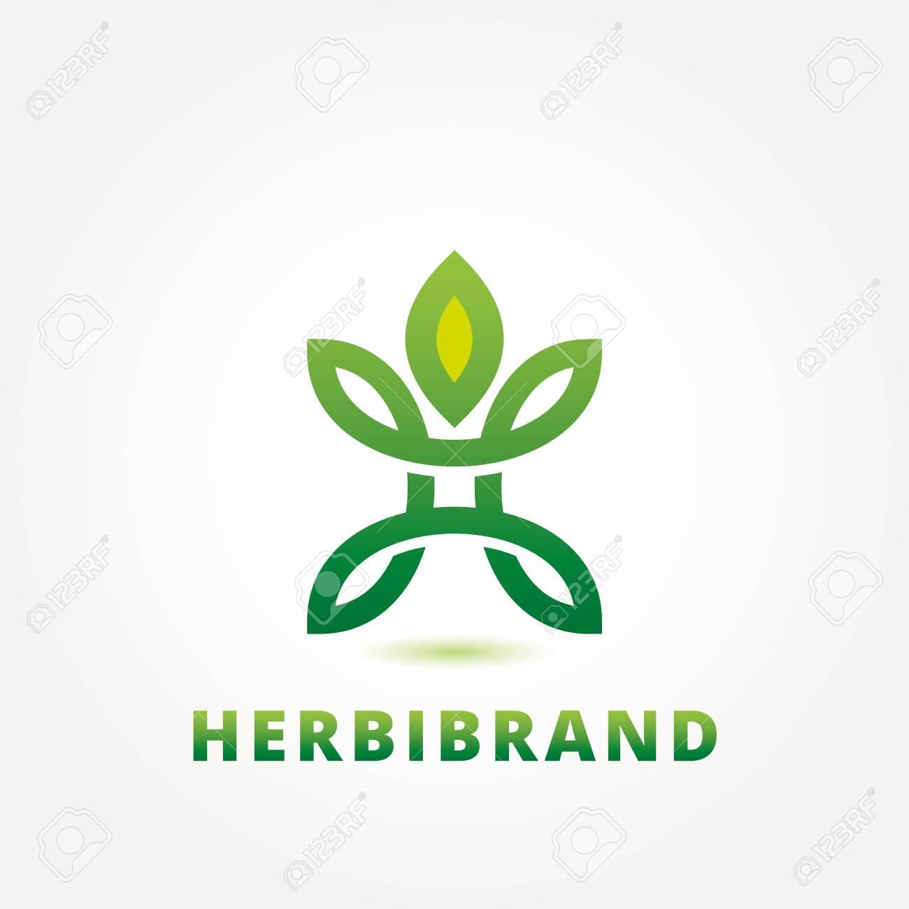 Abstract Green Eco Logo Design Template, Emblem Template Editable ...