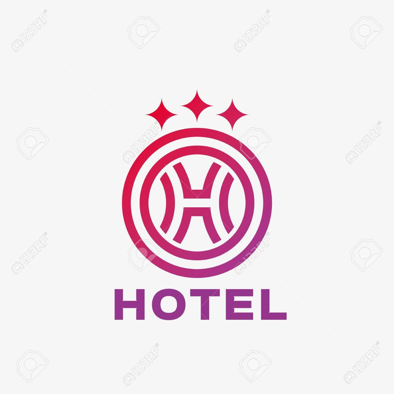 Logo De La Lettre Abstrait H Modèle De Conception Abstraite Du Logo Professionnel Modèle De Logo Modifiable Pour Votre Entreprise