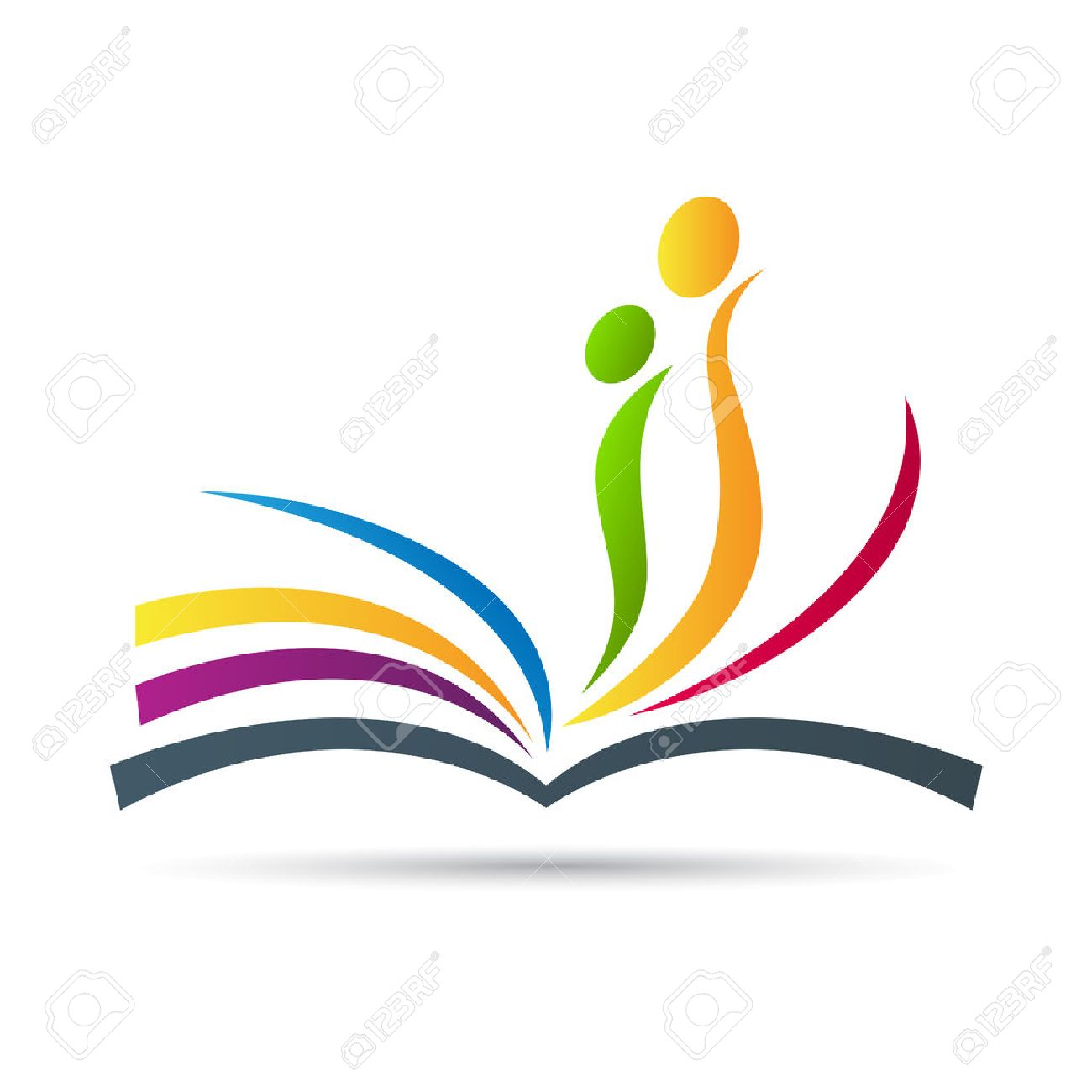 Abstract Book Vector Design Represents Sign And Symbol Of Education