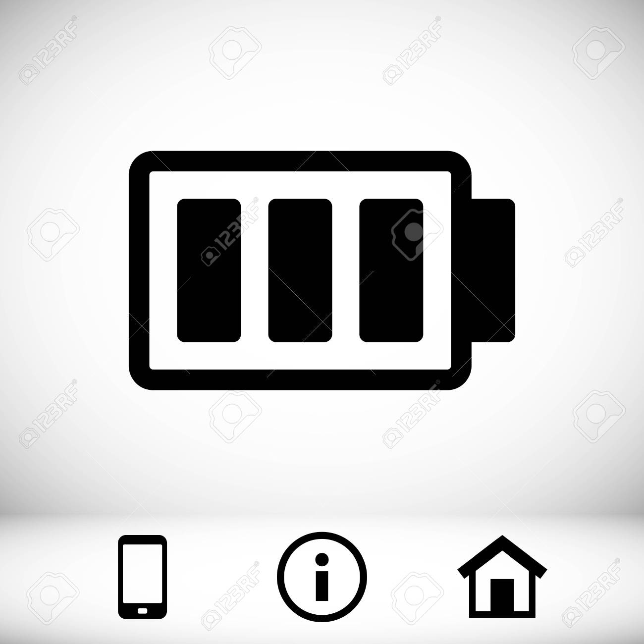 battery vector icon stock vector illustration flat design royalty free cliparts vectors and stock illustration image 77337776 battery vector icon stock vector illustration flat design