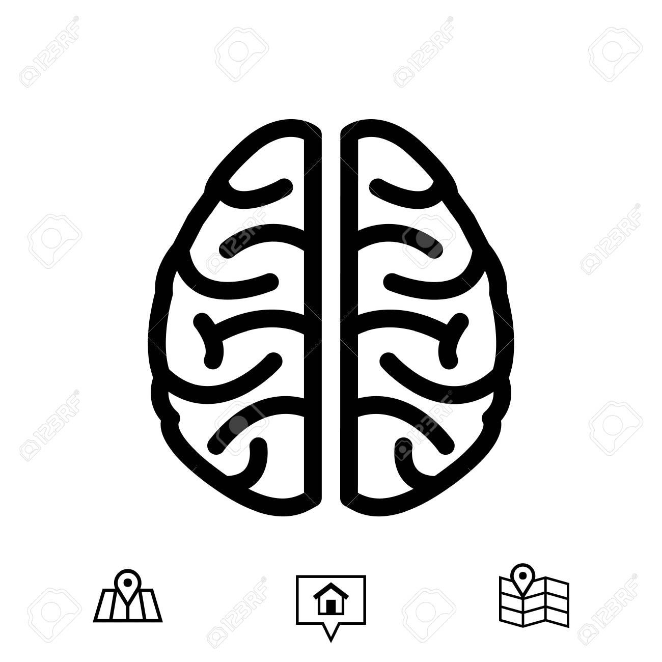 Brain icon stock vector illustration flat design royalty free brain icon stock vector illustration flat design stock vector 77891018 biocorpaavc Images
