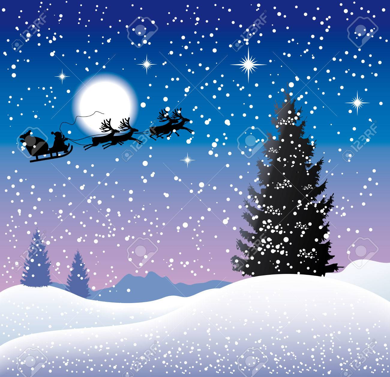 Christmas background. Stock Vector - 8082171
