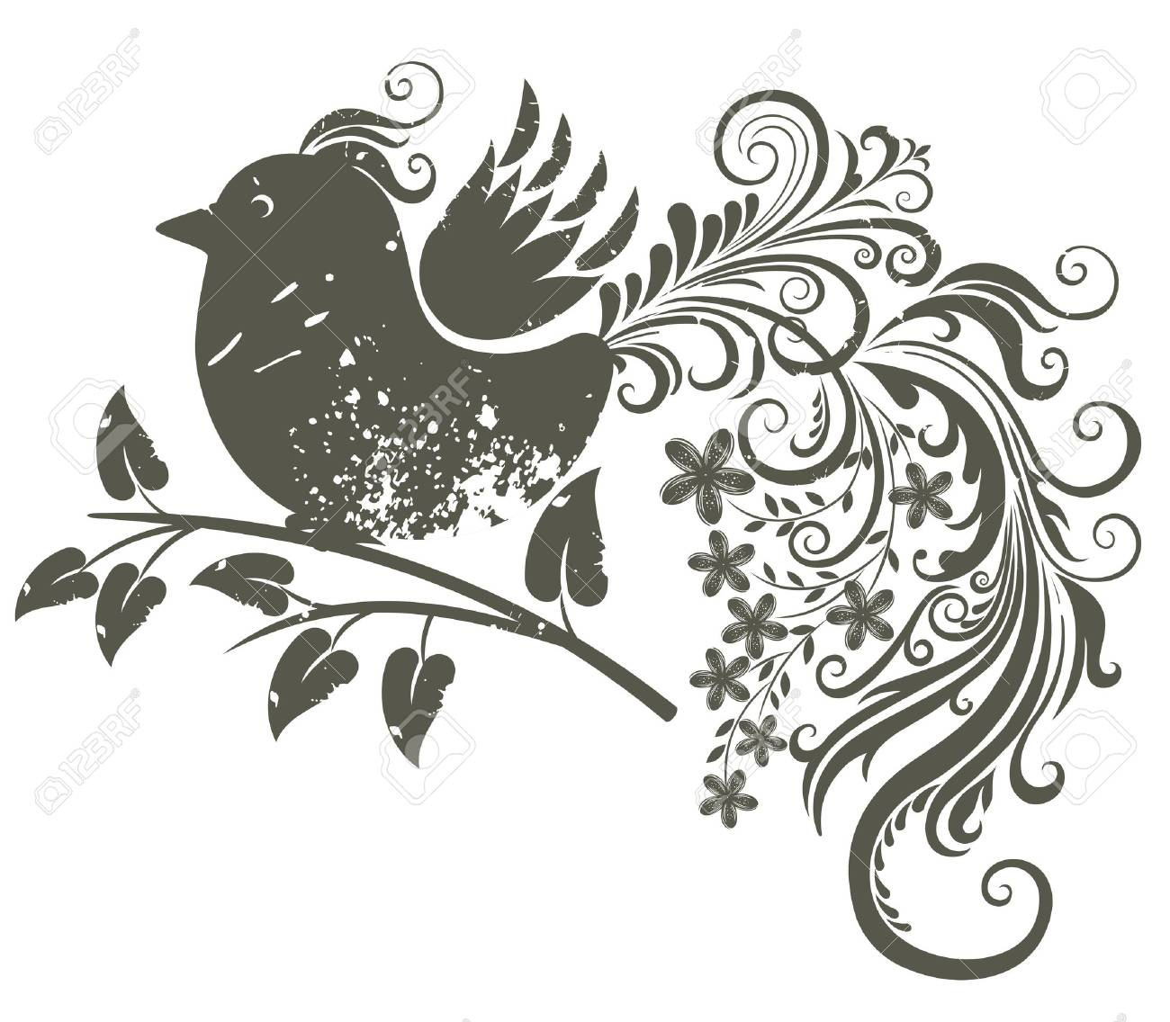 Bird. Stock Vector - 9718193