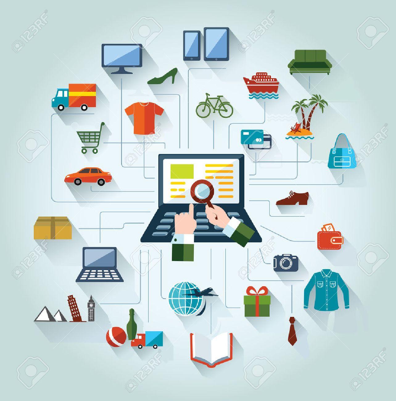 عوامل موثر بر رفتار مشتری در خرید الکترونیکی