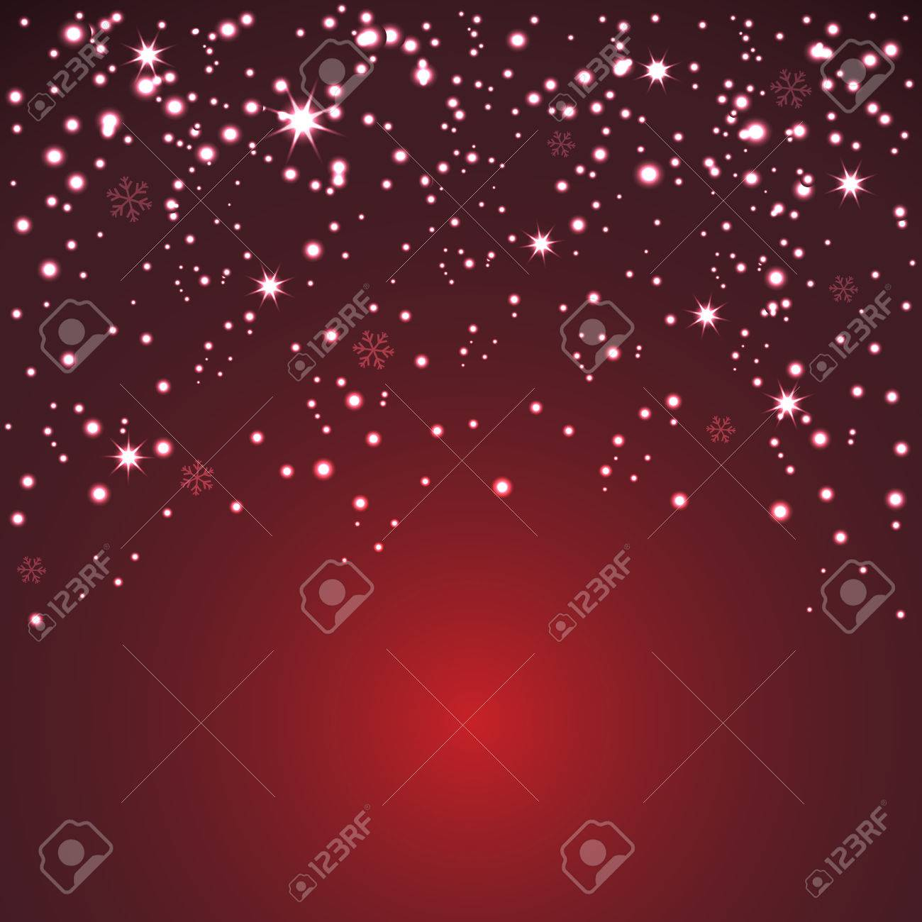 glitter particles background effect for greeting card celebration banner for christmas and new year