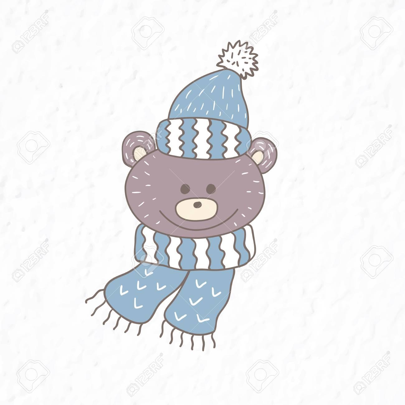 1075fa05 Funny teddy bear. Nursery art. Minimalist scandinavian style...