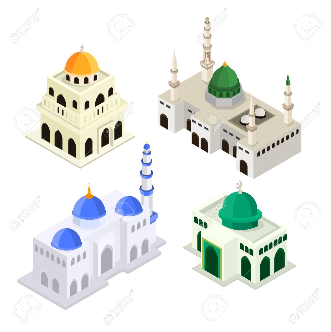 Icon masjid 3d