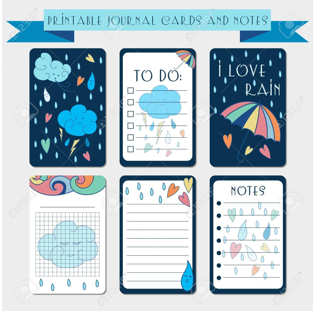 graphic regarding Free Printable Journal Cards referred to as Printable magazine playing cards, labels, with autumn examples