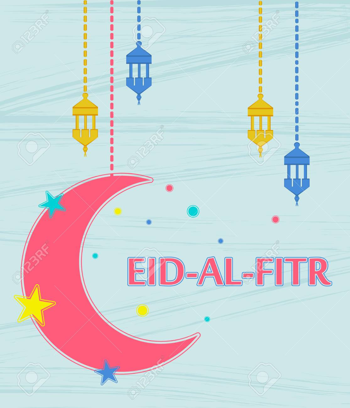 Eid Al Fitr Muslim Traditional Holiday That Marks The End Of
