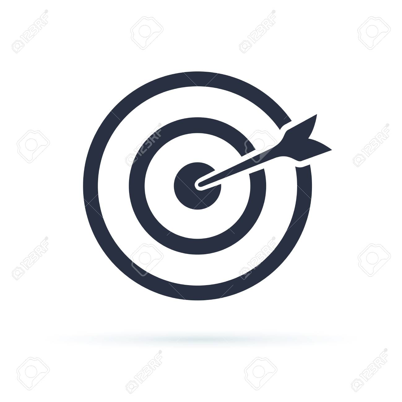 Target Icon Vector Target With An Arrow Flat Icon Concept Market Royalty Free Cliparts Vectors And Stock Illustration Image 112003697 The best selection of royalty free target icon vector art, graphics and stock illustrations. target icon vector target with an arrow flat icon concept market