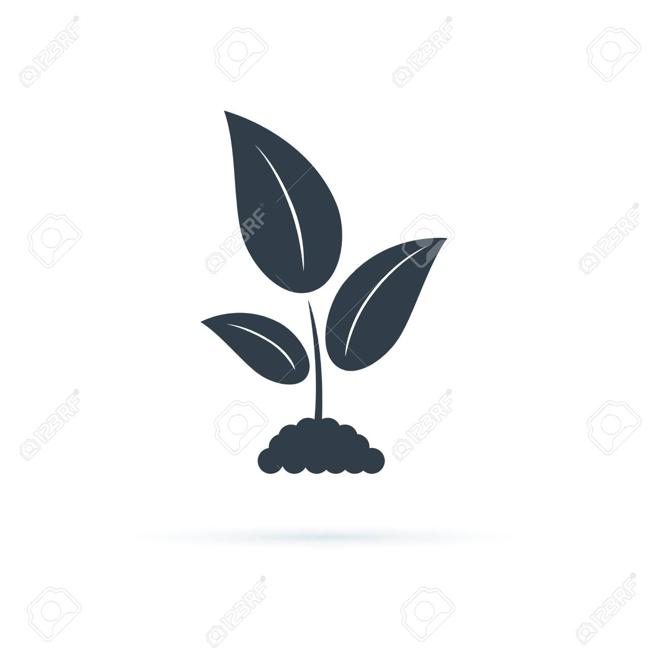 Plant Icon Vector Icon Illustration Agriculture Symbol Biology Royalty Free Cliparts Vectors And Stock Illustration Image 122706597 Here you can explore hq plant icon transparent illustrations, icons and clipart with filter setting like polish your personal project or design with these plant icon transparent png images, make it even. plant icon vector icon illustration agriculture symbol biology