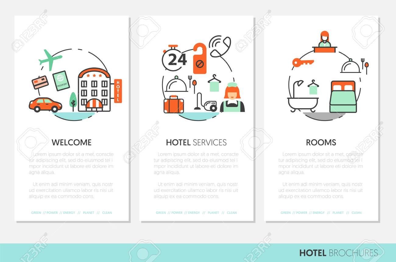 Unique Hotel Broschüre Vorlage Adornment - FORTSETZUNG ARBEITSBLATT ...