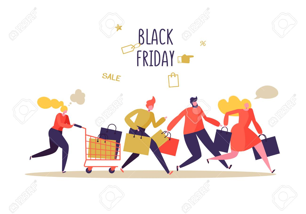 sale black character friday