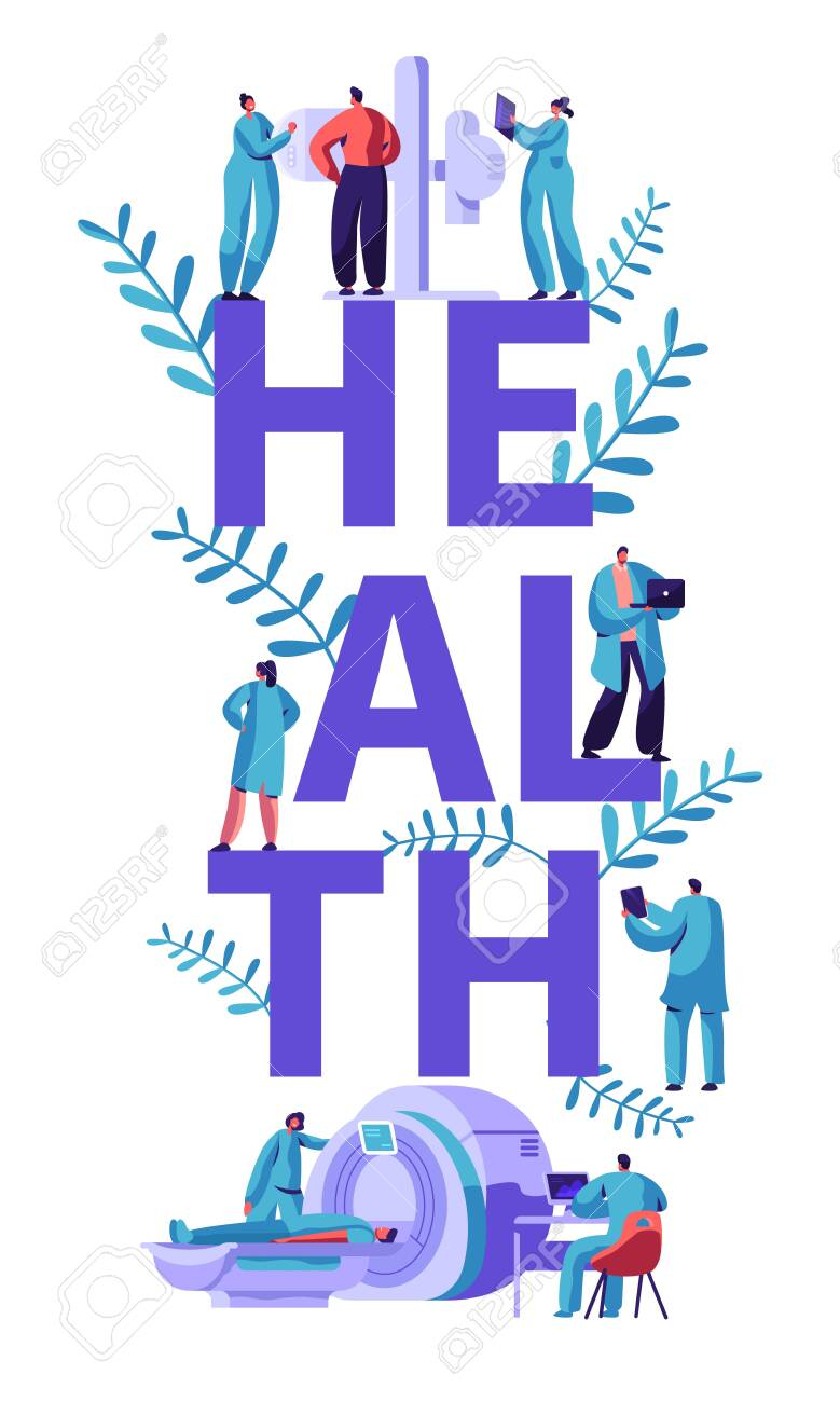 Clinic Tomography Banner Medical Center Hospital Healthcare Royalty Free Cliparts Vectors And Stock Illustration Image 123179787