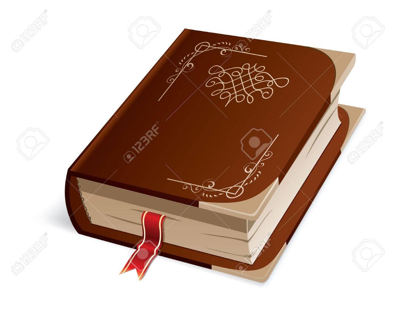 Hardcover Book Stock Vector - 14284120
