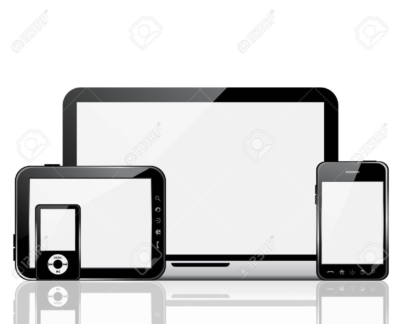 Gadgets Stock Vector - 14979815
