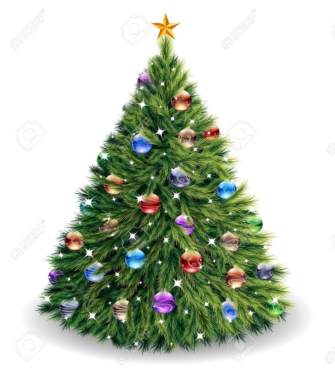 Vector Christmas Tree.Christmas Tree