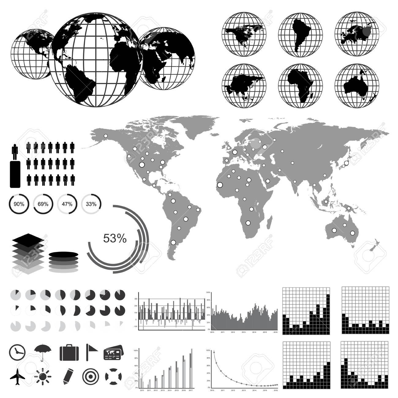 Infographics set Stock Vector - 16627451