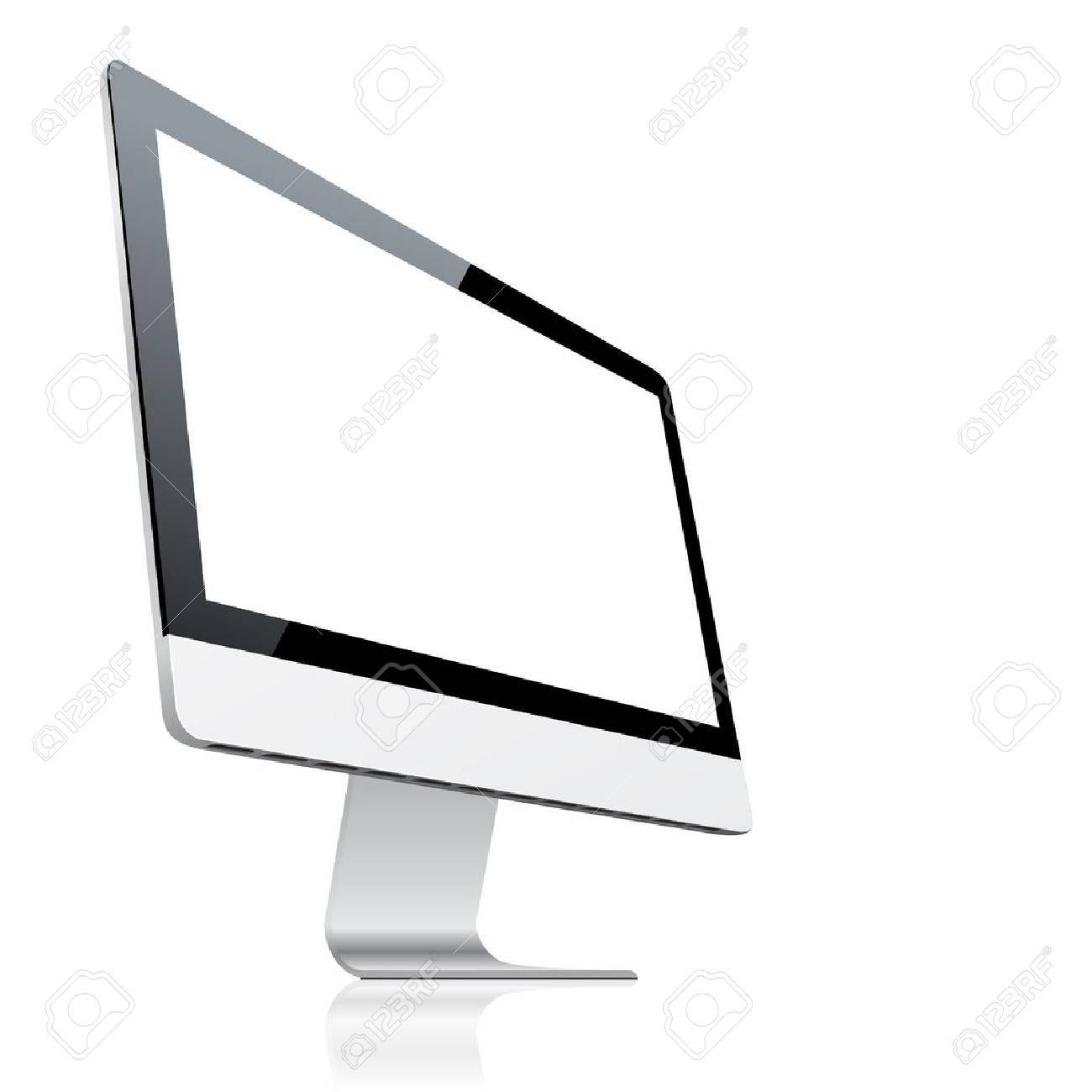 Computer monitor Stock Vector - 16627231