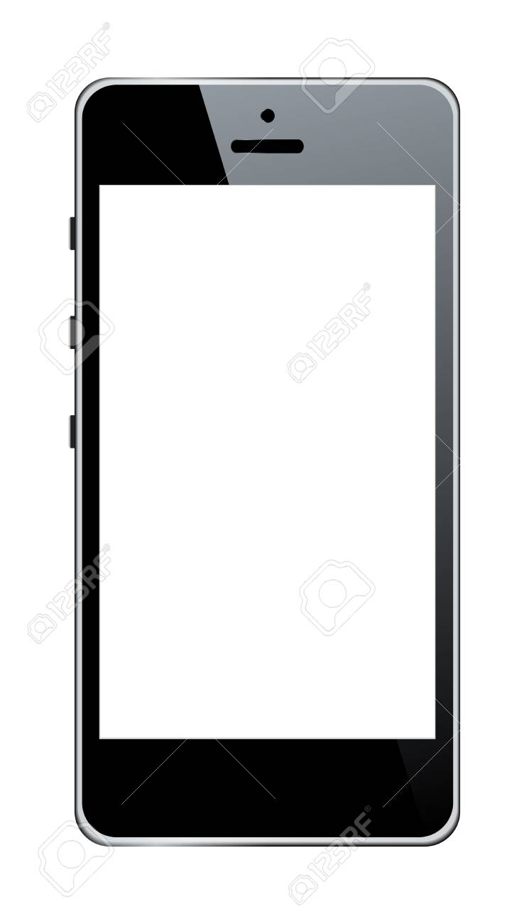 Realistic mobile phone Stock Vector - 17181823