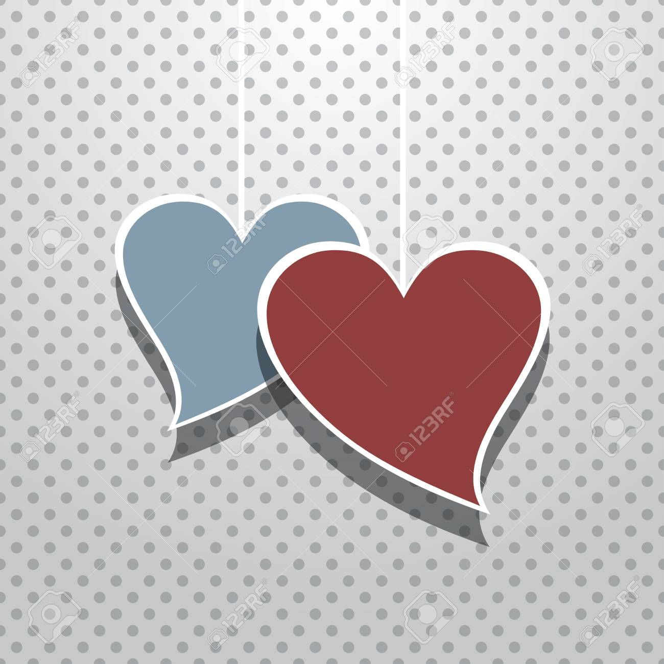 Valentine's Day Card Stock Vector - 17181810