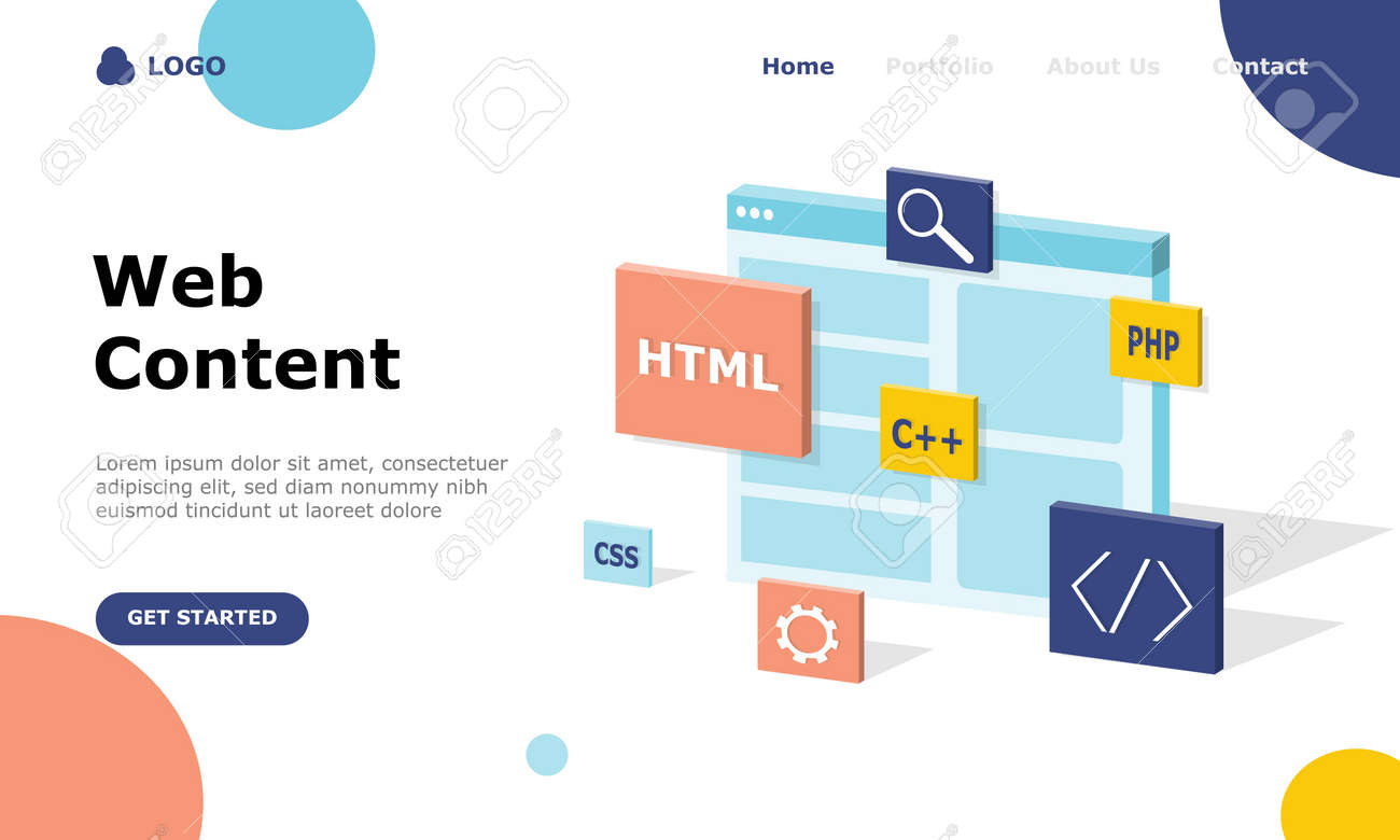 Programmer and Engineering Development Vector Illustration Concept, Suitable for web landing page, ui, mobile app, editorial design, flyer, banner, and other related occasion - 155545044