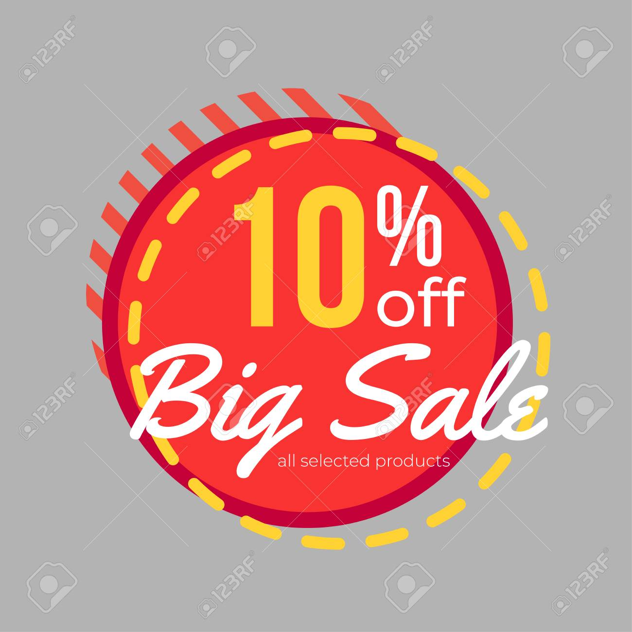 a74f4c5a8 10% discount big sale banner template design for poster, flyer, shop, online