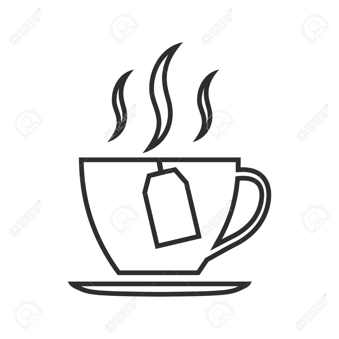 tea vector icon black illustration isolated on white background royalty free cliparts vectors and stock illustration image 64263586 tea vector icon black illustration isolated on white background