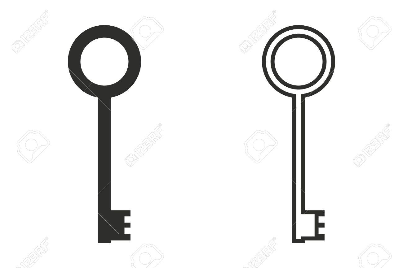 key vector icon black illustration isolated on white background rh 123rf com key vector magic desktop key vector graphic